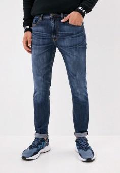 Джинсы, Diesel, цвет: синий. Артикул: DI303EMJVEQ9. Одежда / Джинсы / Зауженные джинсы
