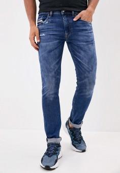 Джинсы, Diesel, цвет: синий. Артикул: DI303EMJVER0. Одежда / Джинсы / Зауженные джинсы