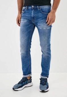 Джинсы, Diesel, цвет: синий. Артикул: DI303EMJVER1. Одежда / Джинсы / Зауженные джинсы