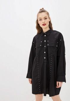 Платье, Diesel, цвет: черный. Артикул: DI303EWHFOF2.