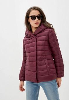 Пуховик, Diesel, цвет: фиолетовый. Артикул: DI303EWIIEU8. Одежда / Верхняя одежда / Пуховики и зимние куртки / Пуховики