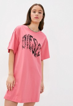 Платье, Diesel, цвет: розовый. Артикул: DI303EWJPHY6.