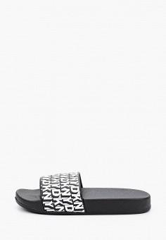 Сабо, DKNY, цвет: черный. Артикул: DK001AGICHD3.