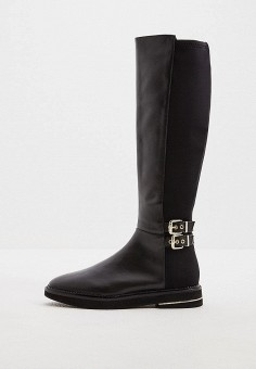 Сапоги, DKNY, цвет: черный. Артикул: DK001AWGZRE7.