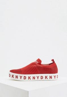 Кеды, DKNY, цвет: красный. Артикул: DK001AWHWPS0.