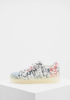 Кеды, DKNY, цвет: белый. Артикул: DK001AWJKQB2.