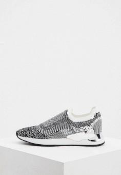 Кроссовки, DKNY, цвет: серый. Артикул: DK001AWJKQC1.