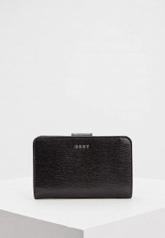 Кошелек, DKNY, цвет: черный. Артикул: DK001BWCYEU8.