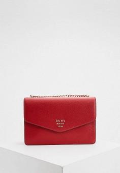Сумка, DKNY, цвет: красный. Артикул: DK001BWHQJY3.