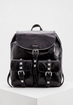 Рюкзак, DKNY, цвет: черный. Артикул: DK001BWHQNT8. Аксессуары / Рюкзаки / Рюкзаки
