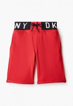 Шорты, DKNY, цвет: красный. Артикул: DK001EBICHA6.