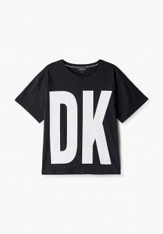 Футболка, DKNY, цвет: черный. Артикул: DK001EBKJJG4.
