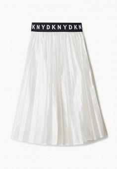 Юбка, DKNY, цвет: белый. Артикул: DK001EGICHC2.