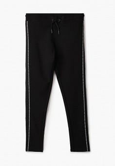 Леггинсы, DKNY, цвет: черный. Артикул: DK001EGICHC3.