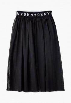 Юбка, DKNY, цвет: черный. Артикул: DK001EGKJJF0.