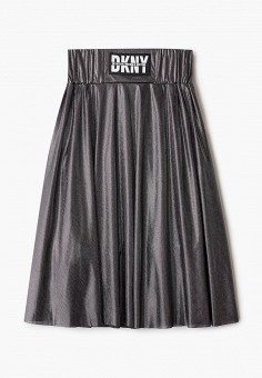 Юбка, DKNY, цвет: серебряный. Артикул: DK001EGKJJF1.