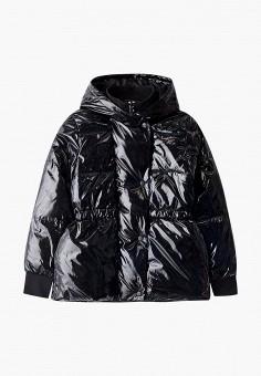 Куртка утепленная, DKNY, цвет: черный. Артикул: DK001EGKJJF6.