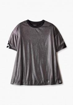 Платье, DKNY, цвет: серебряный. Артикул: DK001EGKJJG0.