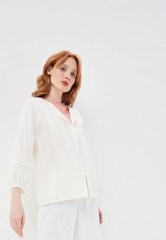 Жакет, DKNY, цвет: белый. Артикул: DK001EWEYXY3.