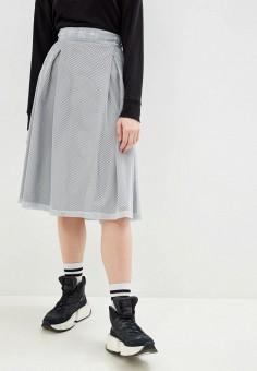 Юбка, DKNY, цвет: серый. Артикул: DK001EWHWOD6.