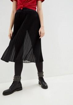 Юбка, DKNY, цвет: черный. Артикул: DK001EWHWOD8.