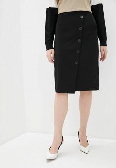 Юбка, DKNY, цвет: черный. Артикул: DK001EWHWOE2.