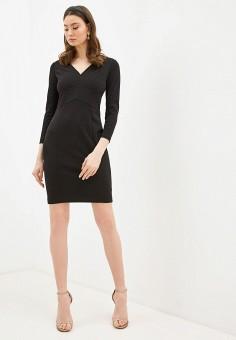 Платье, DKNY, цвет: черный. Артикул: DK001EWHWOH2.