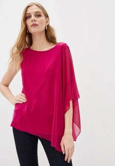 Блуза, DKNY, цвет: розовый. Артикул: DK001EWHWOI9.