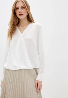 Блуза, DKNY, цвет: белый. Артикул: DK001EWHWOJ3.
