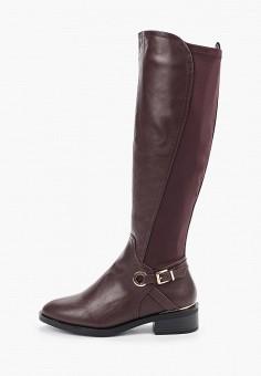Сапоги, Dorothy Perkins, цвет: бордовый. Артикул: DO005AWHBBL2. Обувь / Сапоги / Сапоги