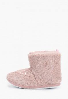 Тапочки, Dorothy Perkins, цвет: розовый. Артикул: DO005AWHHGW4. Обувь / Домашняя обувь