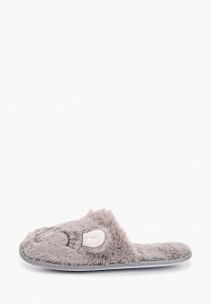 Тапочки, Dorothy Perkins, цвет: серый. Артикул: DO005AWHRAK5. Обувь / Домашняя обувь
