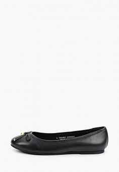 Балетки, Dorothy Perkins, цвет: черный. Артикул: DO005AWIQRQ6. Обувь / Балетки