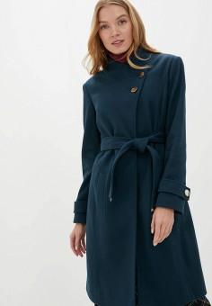 Пальто, Dorothy Perkins, цвет: зеленый. Артикул: DO005EWGTXL4.