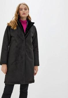 Дубленка, Dorothy Perkins, цвет: черный. Артикул: DO005EWHBMQ5. Одежда / Верхняя одежда / Шубы и дубленки