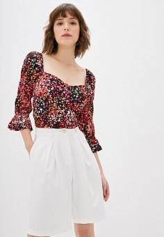 Блуза, Dorothy Perkins, цвет: мультиколор. Артикул: DO005EWHELY6. Одежда / Блузы и рубашки / Блузы