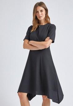 Платье, Dorothy Perkins, цвет: черный. Артикул: DO005EWIASW0.