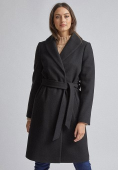 Пальто, Dorothy Perkins, цвет: черный. Артикул: DO005EWIGUB3.