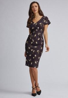 Платье, Dorothy Perkins, цвет: коричневый. Артикул: DO005EWIIOB9. Одежда