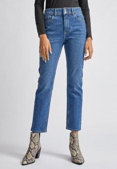 Джинсы, Dorothy Perkins, цвет: синий. Артикул: DO005EWIKIA0. Одежда / Джинсы / Узкие джинсы