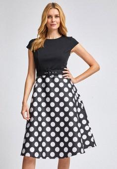 Платье, Dorothy Perkins, цвет: черный. Артикул: DO005EWIKOS4. Одежда / Платья и сарафаны