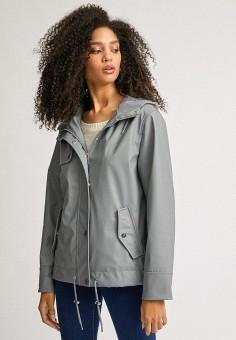 Куртка, Dorothy Perkins, цвет: серый. Артикул: DO005EWILKW0.
