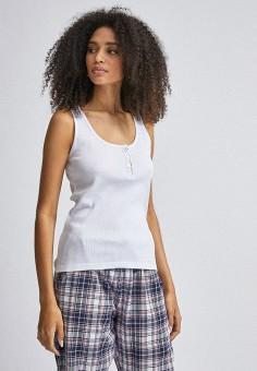 Пижама, Dorothy Perkins, цвет: белый, розовый. Артикул: DO005EWINMT3. Одежда / Домашняя одежда