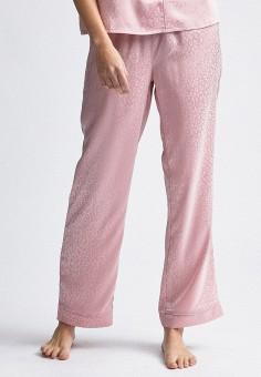 Брюки домашние, Dorothy Perkins, цвет: розовый. Артикул: DO005EWINMT5. Одежда / Домашняя одежда