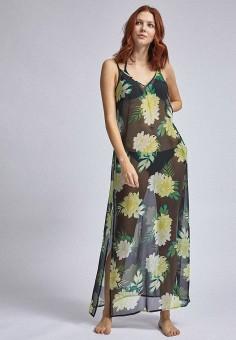Платье пляжное, Dorothy Perkins, цвет: черный. Артикул: DO005EWINMT9. Одежда / Купальники и пляжная одежда