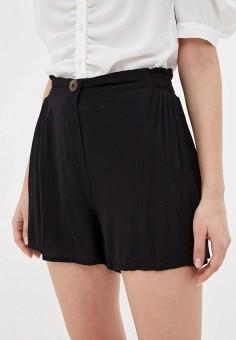 Шорты, Dorothy Perkins, цвет: черный. Артикул: DO005EWINMU2. Одежда / Шорты