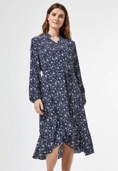 Платье, Dorothy Perkins, цвет: синий. Артикул: DO005EWIQSS9.