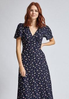 Платье, Dorothy Perkins, цвет: синий. Артикул: DO005EWITGZ6. Одежда / Платья и сарафаны / Повседневные платья