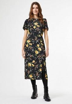 Платье, Dorothy Perkins, цвет: черный. Артикул: DO005EWIVSA0. Одежда / Платья и сарафаны / Повседневные платья