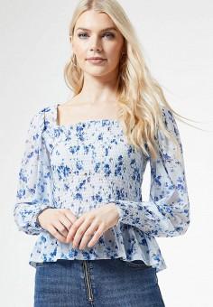 Блуза, Dorothy Perkins, цвет: голубой. Артикул: DO005EWJBJG7.